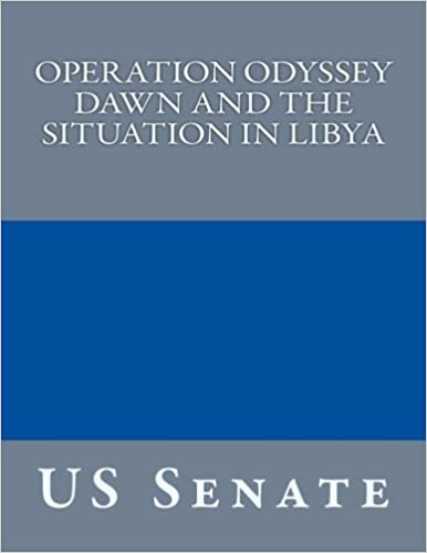 Book Operation Odyssey Dawn and the Situation in Libya
