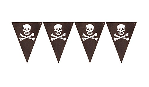 - CC Creative Converting Buried Treasure Party Flag Banner (2 Count)