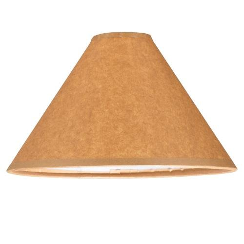 Meyda Tiffany 118856 Parchment Lamp Shade, 8'' Width x 5'' Height, Brown