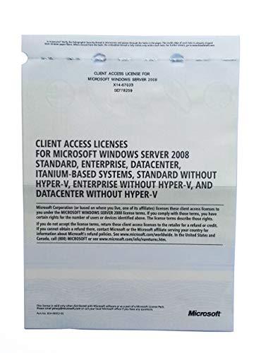 MS Windows Server 2008 RDS TS Remote Desktop Services: 100 CALS-licenties voor gebruikers / apparaten – Terminal…