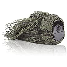 Wasserstein Ghillie Skin Compatible with Arlo Pro & Arlo Pro 2 Smart Security - 100% Wire-Free Cameras — by (1 Pack)