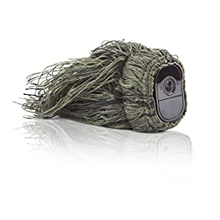Wasserstein Ghillie Skin Compatible with Arlo Pro & Arlo Pro 2 Smart Security - 100% Wire-Free Cameras (1 Pack)