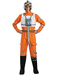 Rubies Costume Star Wars A Hope X-Wing Pilot, Orange