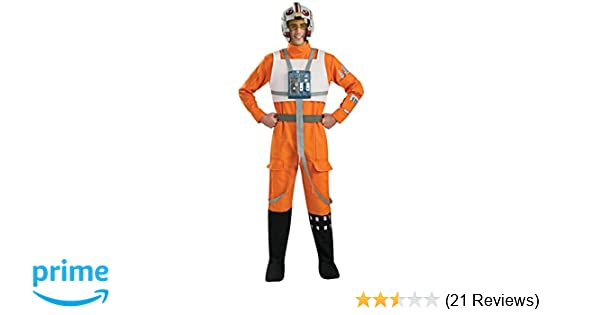 Amazon.com: Rubies Star Wars A New Hope X-Wing Pilot ...
