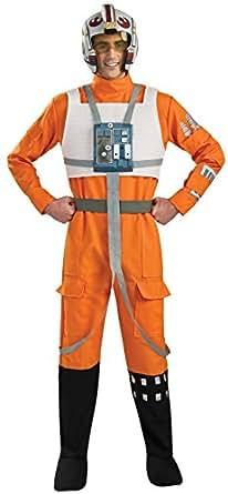 Rubie's Costume Star Wars A New Hope X-Wing Pilot, Orange, X-Large Costume