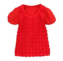 Red Rosette Top Size 2