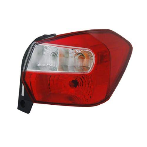 Subaru Lamp Impreza (Go-Parts » Compatible 2012-2016 Subaru Impreza Tail Light Rear Lamp Assembly Replacement - Right (Passenger) (NSF Certified) SU2819104N)