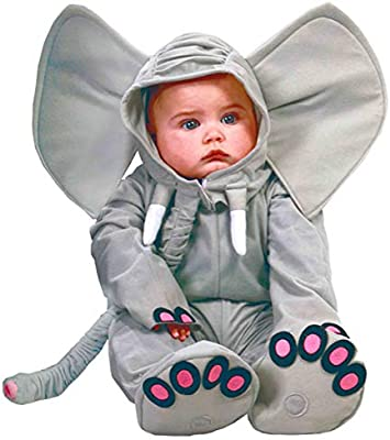 Guirca Disney 81089 - Disfraz de Elefante para bebé, Color Gris ...