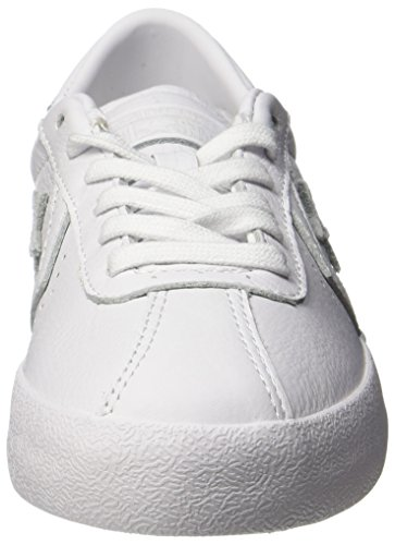 discount for cheap discount professional Converse Mens Breakpoint Ox Leather Trainers White/White/White buy cheap free shipping e4Rme8Dq