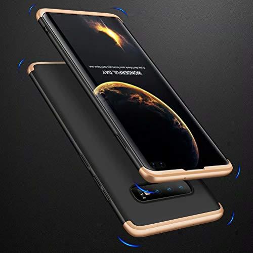 FGXG Compatible para Funda Samsung Galaxy S10 Plus Caso + [2 * Protector de Pantalla Suave HD] 360 Grados PC Carcasa de protección ,Resistente al ...