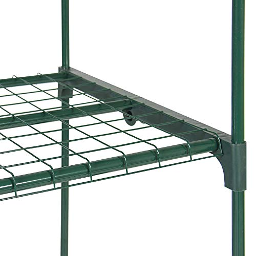 Yardeen 4 Tier Mini Greenhouse Rack Stands Portable Garden for Outdoor & Indoor by Yardeen (Image #3)