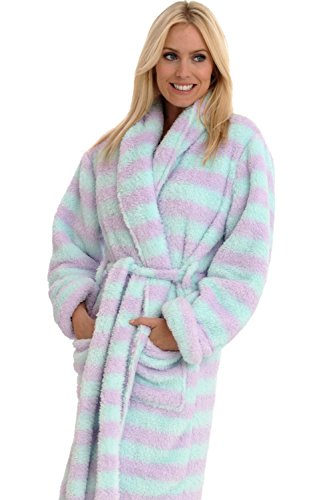51c57aaf33 Alexander Del Rossa Womens Fleece Robe