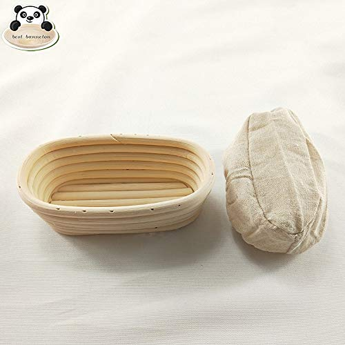 Best Quality - Baking & Pastry Spatulas - Natural rattan banneton basket rattan proofing basket best banneton baguette proofing basket banneton sizes - by Tini - 1 PCs