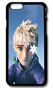 iPhone 6 Back Case - Jack Frost Rise Of The Guardians Illust Slim Plastic Hardshell Case Cover for iPhone 6 4.7 Inch Black