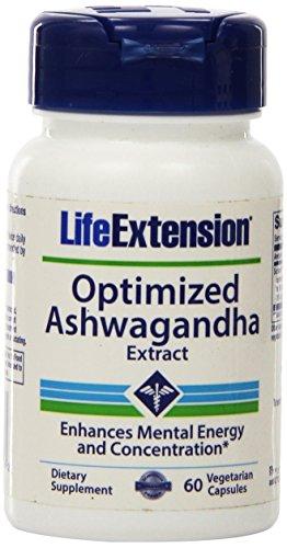 Vie extension venant Ashwagandha Extrait gélules Veg, 60-Count