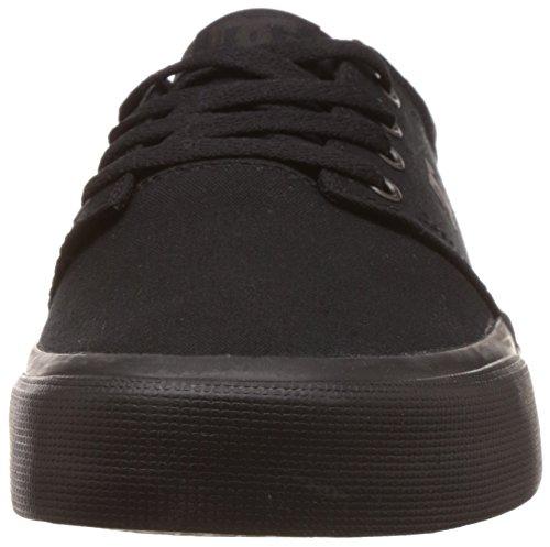 Black Negro Skateboarding 3bk DC Hombre TX Zapatillas Black de Shoestrase Black FFq8YwP
