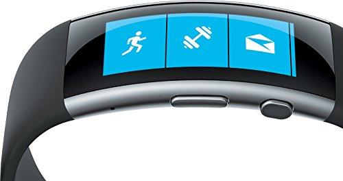 Microsoft-Band-2-Monitor-de-actividad-Bluetooth-40-AMOLED-Li-po-color-negro-importado