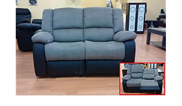MUEBLES MATO - Sofas 2 plazas eli reclinable: Amazon.es: Hogar