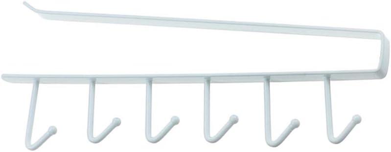 Blanc Taille L Blanketswarm Lot de 4 Porte-gobelets Multifonctions sans Clous pour Placard de Cuisine