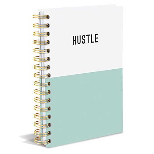Graphique Hustle Dipped Hard Cover Journal w/DurableHustle Cover, Fun, Durable Notebook for Notes, Lists, Recipes, and More, 160 Ruled Pages, 6.25 x 8.25 x 1 Graphique de France SB3063A5