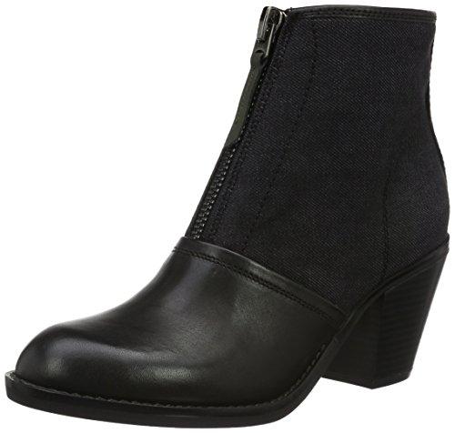 G-STAR RAW Lynn Boot, Botas Camperas Para Mujer Negro (Black 990)