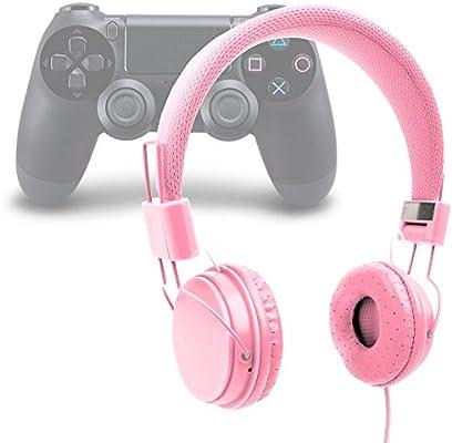 DURAGADGET Auriculares Estéreo para Playstation 4/3: Amazon.es ...