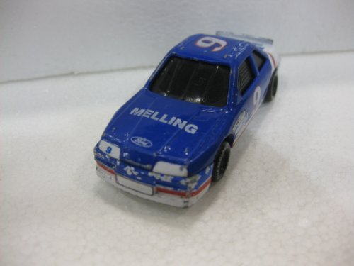 Blue #9 Melling Ford Racing Team Matchbox Car Die-Cast Colle