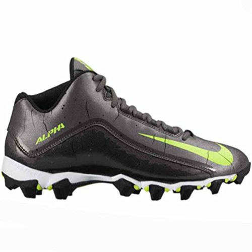 Nike Alpha Shark 2 3/4 American Football Schuhe Dark Grey/Black/White