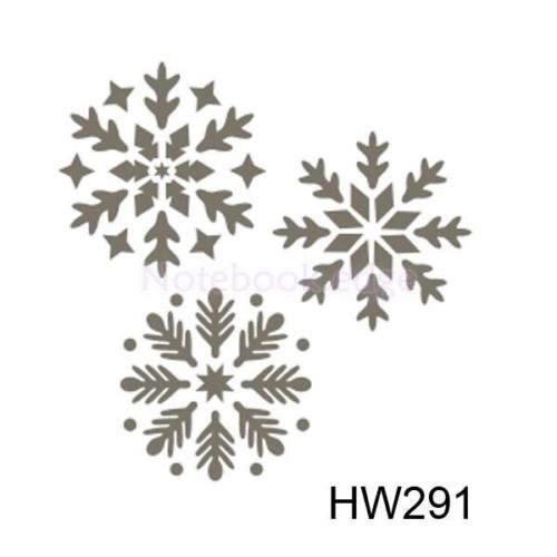 Wall Painting Stencil Template Plastic Mural Home Modern DIY Craft Decoration Snowflake