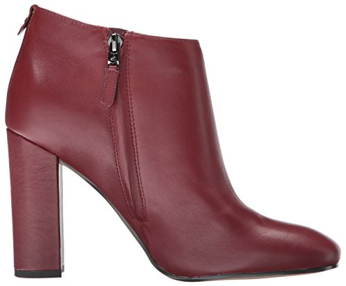 Sam Edelman Women's Cambell Ankle Boots, Black, 8 UK Burnt Mahogany