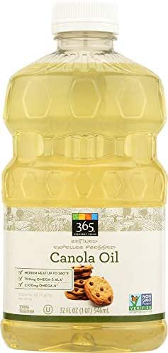 Cooking Oils: 365 Everyday Value Canola Oil