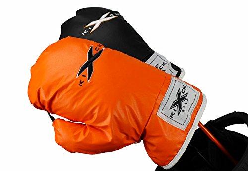 KICK-X GOLF Boxing Glove Driver Headcover, Black (Headcover Glove Driver Boxing)