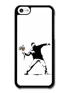 diy phone caseAMAF ? Accessories Banksy Flower Thrower Case for ipod touch 5diy phone case