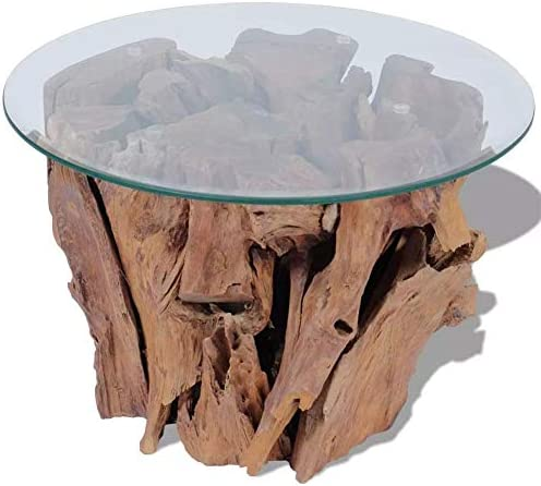 Coffee Tables Solid Teak Driftwood 23.6″ Table