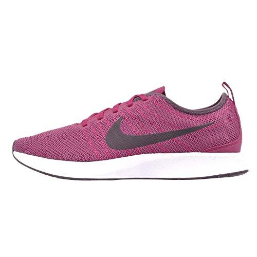 Nike Heren Dualtone Racer Toevallige Schoen Nobel Rood / Port-zwart