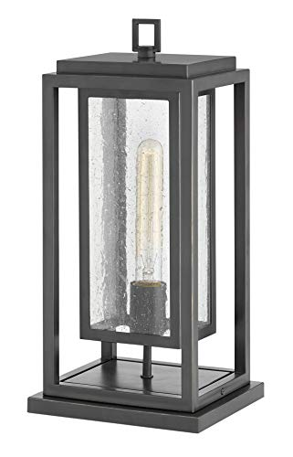 Hinkley 1007OZ Republic Outdoor Post, 1-Light, 100 Watts, Oil Rubbed ()