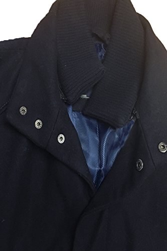 Imbuto Collo Navy Inverno Giacca 1j9692 Doppio Uomo Lana Foderato Misto Tokyo Ad Laundry wafx0pX