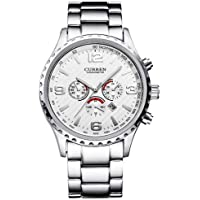 Curren Men Casual Watches With Luxury Dail and Stainless steel