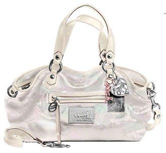 7a546e8f8d8 Amazon.com  Coach Limited Edition Sequin Rocker Convertiable Shoulder Bag  Tote 16339 Opal  Clothing