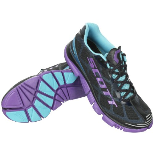 Scott Shoes W 'S Eride Flow 6 Black/Purple GQeDwfURkf