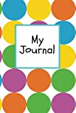"""My Journal: Colourful Spots Cover 