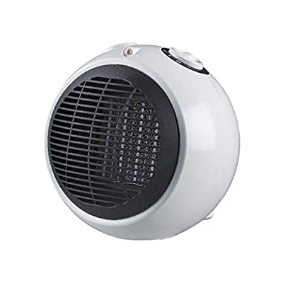 Air Conditioners CJC ABS PTC 1500W Ceramic Heating White 4 Speed Setting Portable Safer Energy-Saving