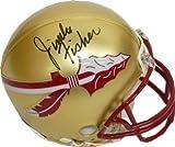 Jimbo Fisher Signed Autograph Florida State Seminoles Riddell Mini Helmet