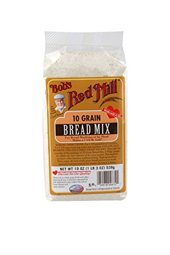 (Bob's Red Mill 10 Grain Bread Mix, 19-ounce (Pack of 4) )