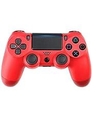 Dual Shock 4 draadloze controller voor PlayStation draadloze Bluetooth PS4-gamepad Rood