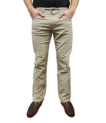 Calvin Klein Jeans Men's Corduroy Pants (38Wx34L, New Khaki)