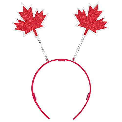 Canada Red Maple Leaf Headboppers