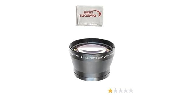 2 x Telephoto Lente para la Olympus E-420, E-410, E-400, E-330, E ...