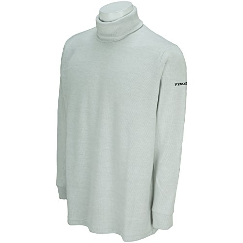 ブリヂストン TOUR B 長袖シャツ?ポロシャツ 長袖タートルシャツ IGM33F オフホワイト LL