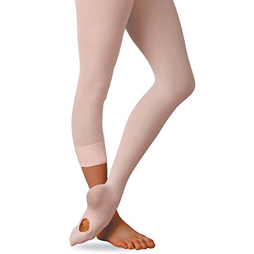 Grace Convertible Dance Tights (Child Medium, Ballet Pink)